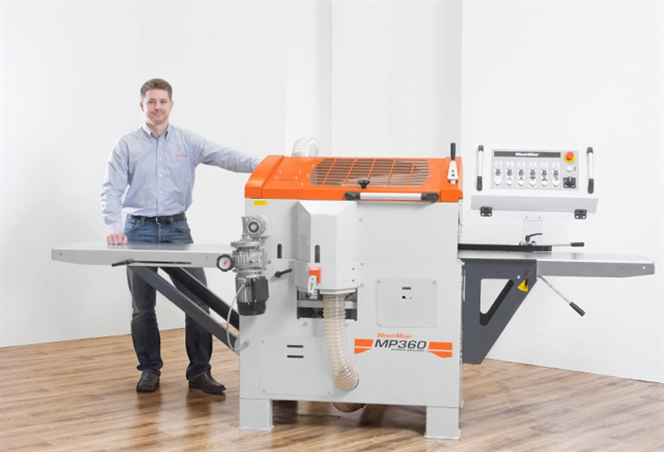 Wood-Mizer releases High Capacity MP360 Planer/Moulder for Workshops