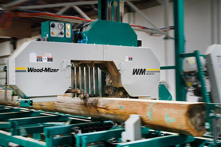 US family business grows with 3 WM4000 sawmills