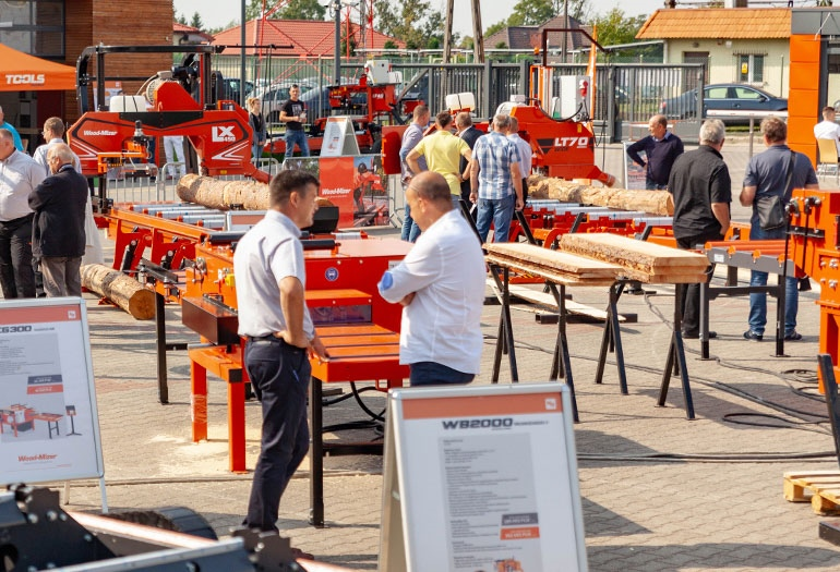 Customer Day at Wood-Mizer's European Headquarters – New products in operation